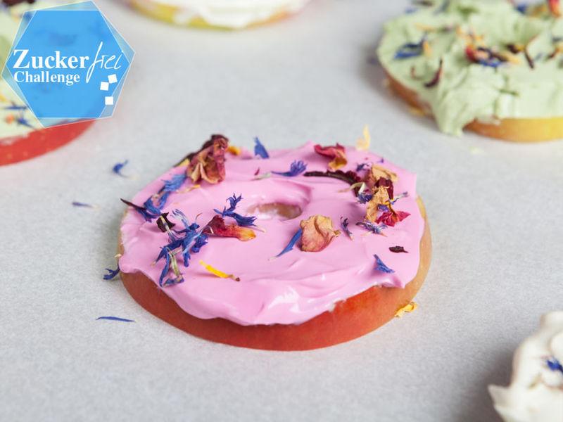 Rezept Zuckerfreie Apfel-Donuts