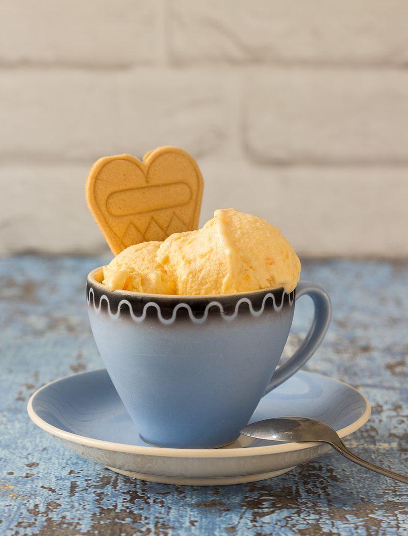 Rezept Zuckermelonen-Buttermilch-Eis
