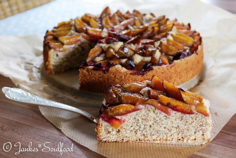 Rezept Zwetschgen-Nuss-Kuchen