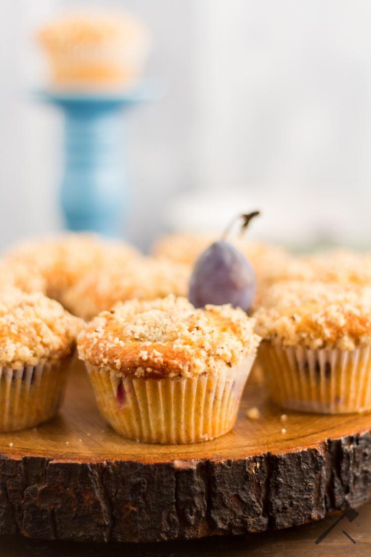 Rezept Zwetschgen Streusel Muffins