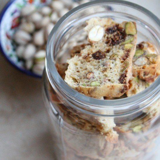 Rezept Zwieback mit Früchten und Nüssen