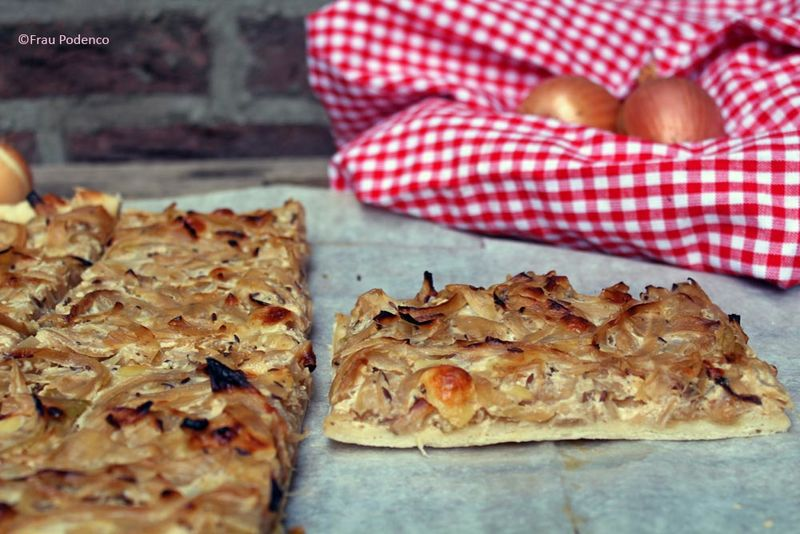 Rezept Zwiebelkuchen vom Blech
