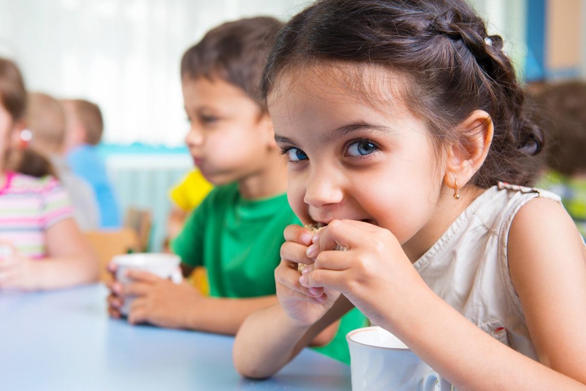 Voeding en maaltijden voor kinderopvang, in beeld