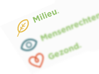 Milieuscores op producten door Questionmark, in beeld