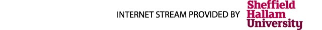 Internet stream provided by Sheffield Hallam University