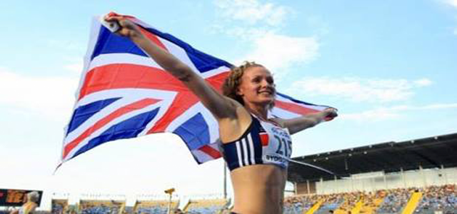 Beesley after claiming bronze at the 2008 World Junior Championships. Photo courtesy of www.meghanbeesley.net