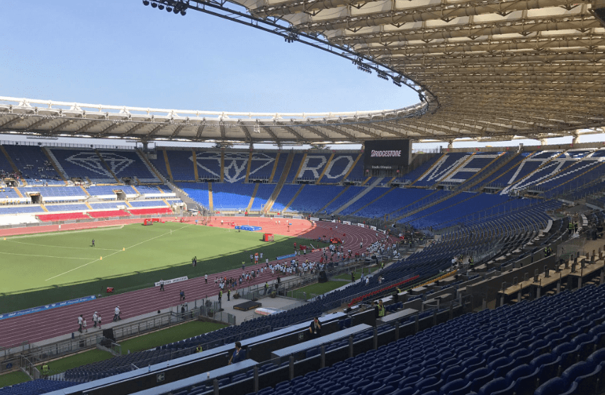 Rome's Stadio Olimpico. Photo: Alex Seftel