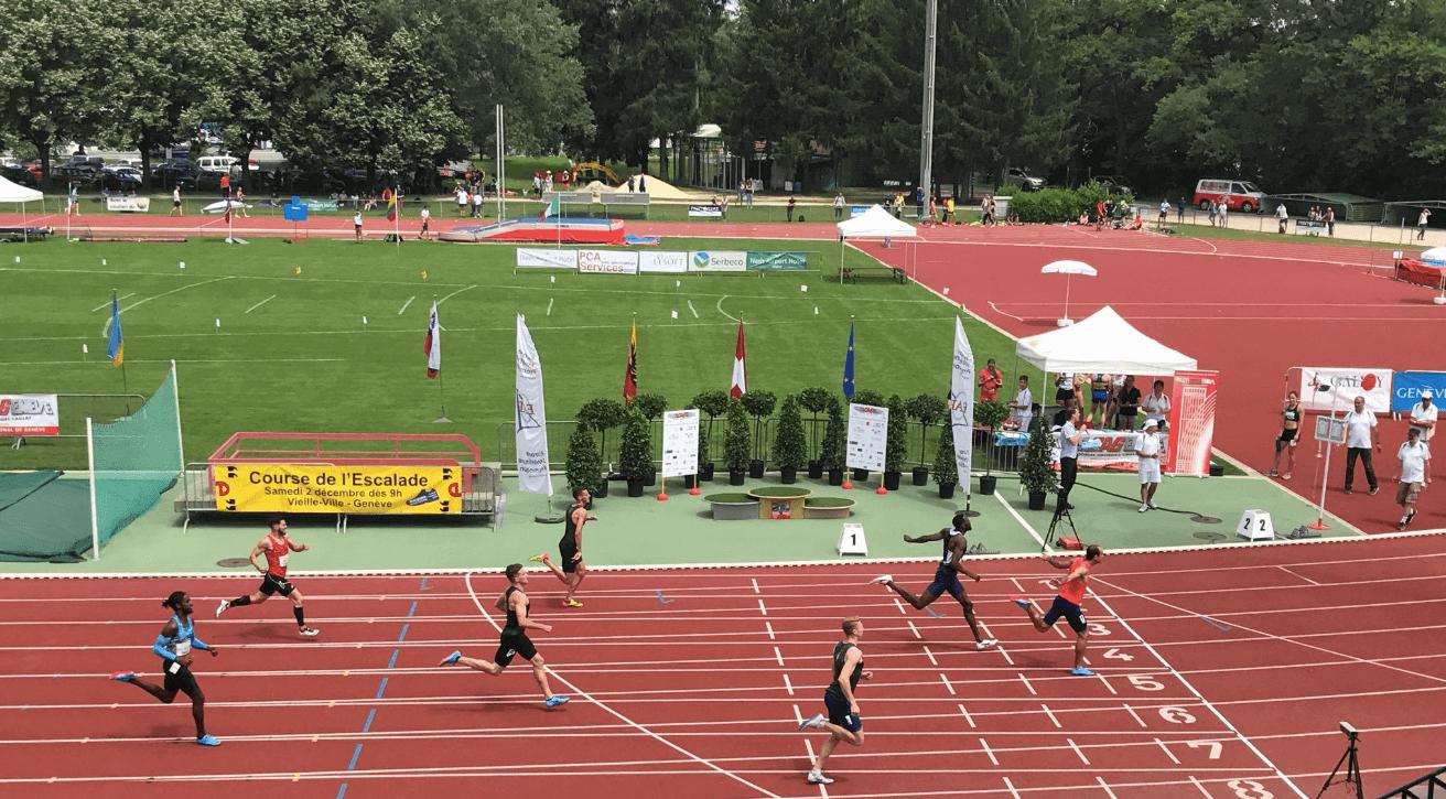 Stock track. AtletiCAGeneve in Geneva 2018. Photo: Alex Seftel