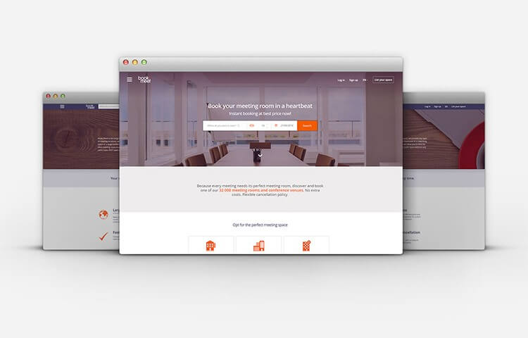 Real-Time Booking Platform Development for a Hospitality Startup - book2meet