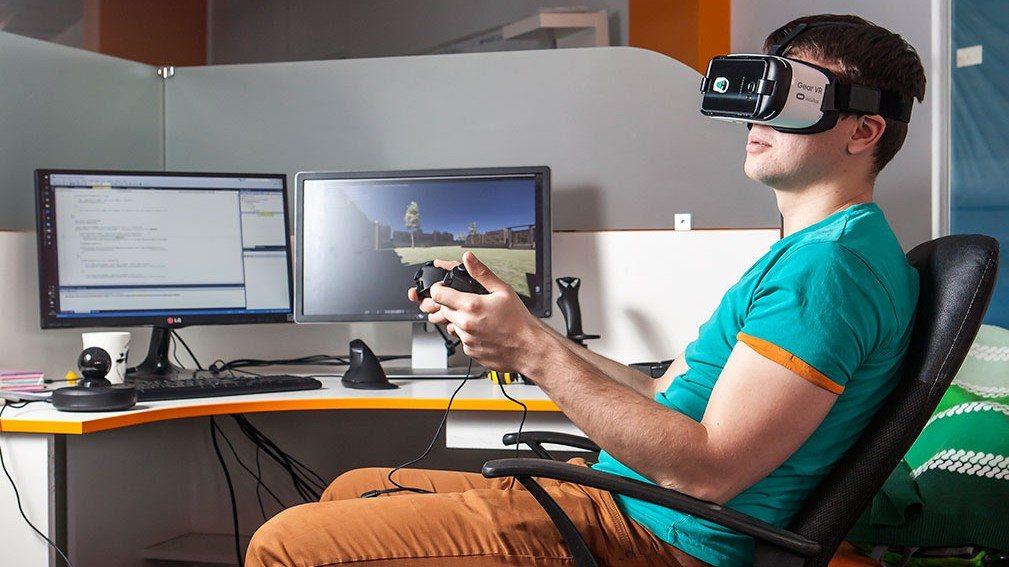 VR team at N-iX 3
