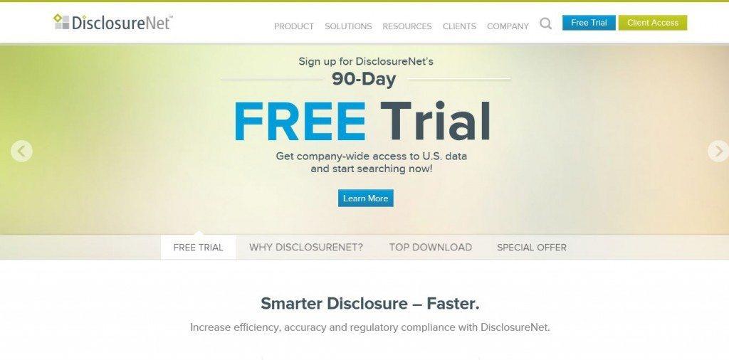 disclosure net