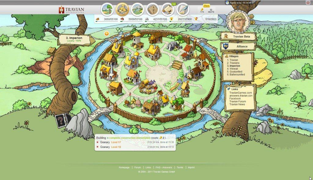 Travian game