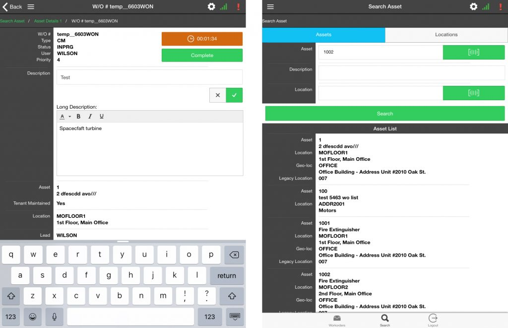 Schad Mobile App for Industrial Automation Screen2