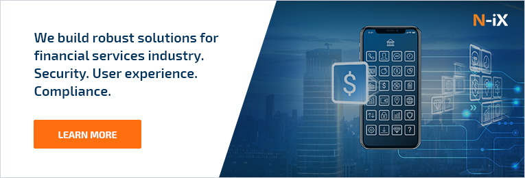 N-iX digital transformation in banking. Robust solutions