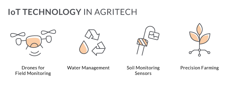 IoT in agritech software development