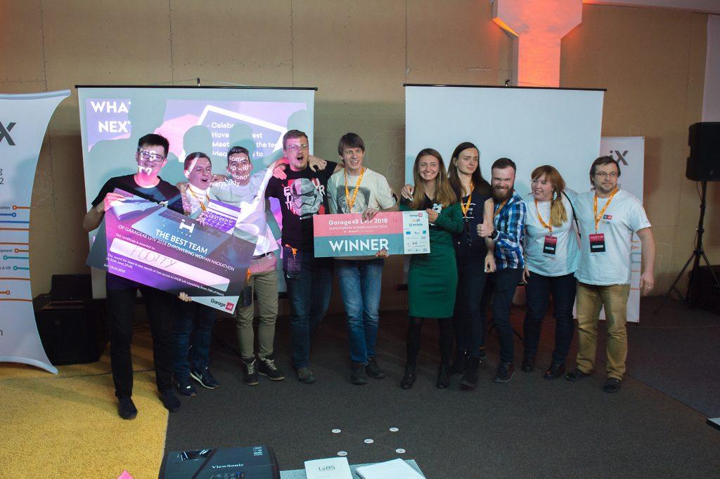 empowering women hackathon winners N-iX Lviv