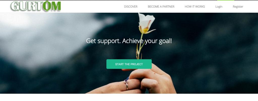Gurtom Foundation screenshot