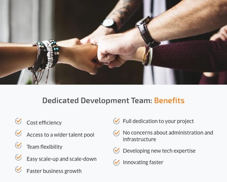 Benefits of hiring dedicated software developers