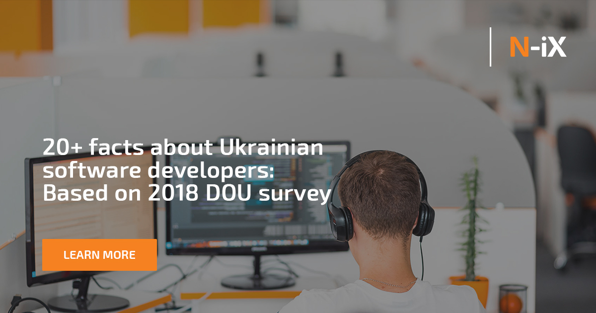 20 Facts About Ukrainian Software Developers