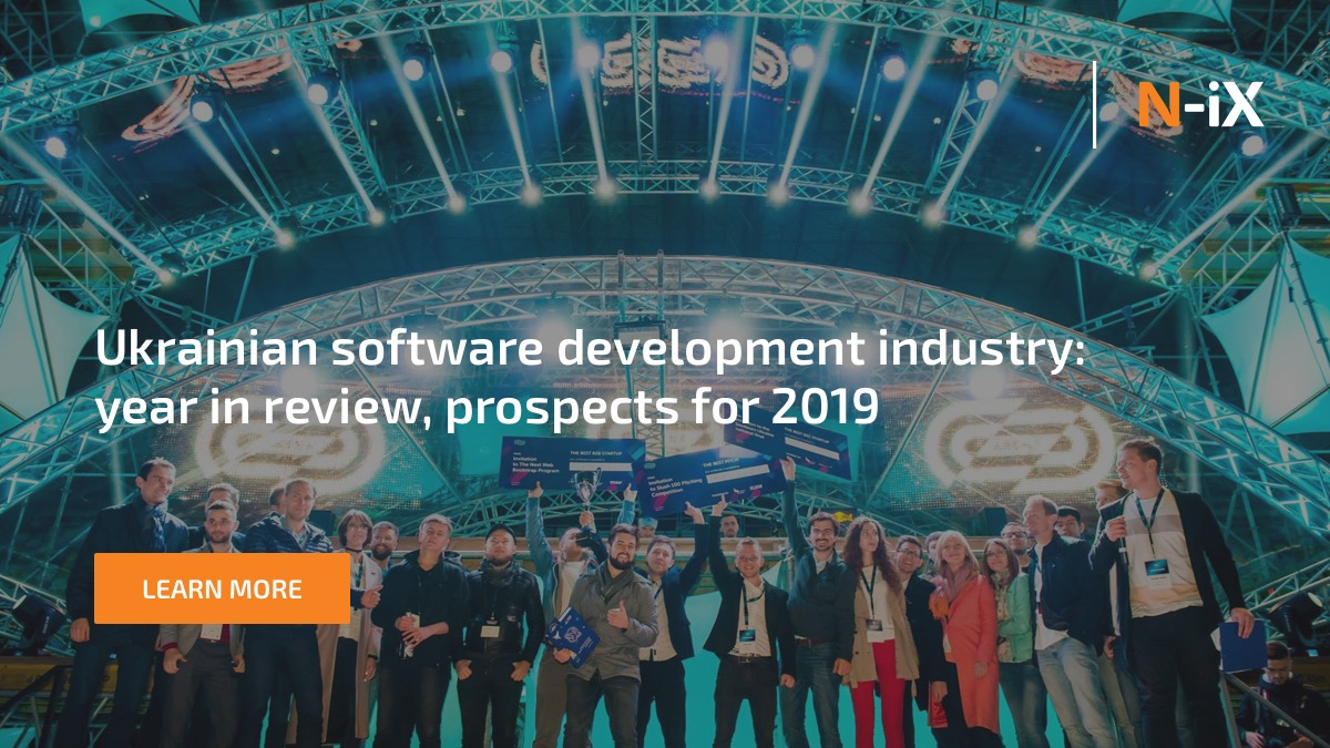 Ukrainian software development industry: year in review 2019
