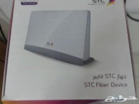 حراج الأجهزة   راوتر الياف STC