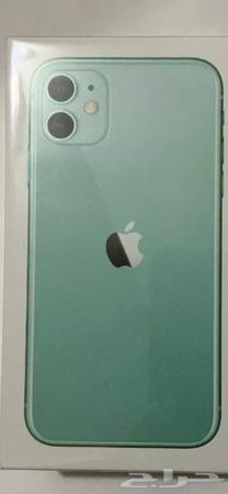 حراج الأجهزة ايفون 11 تيفاني اخضر