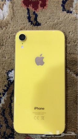 حراج الأجهزة ايفون اكس ا اصفر