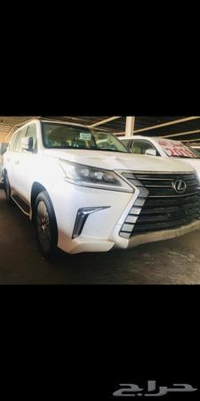 حراج السيارات جيب لكزس Lx 570 نص فل Ad سعودي 2020 أبيض