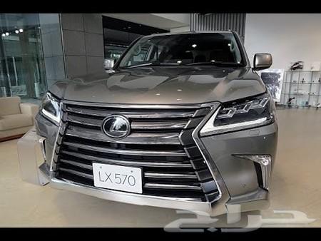 حراج السيارات للبيع جيب لكزس 2016 لون تيتانيوم داخلي ابيض