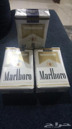 دخان مالبورو ابيض قولد امريكي U S A