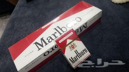 دخان مالبورو احمر امريكي الاصلي بيع قطاعي
