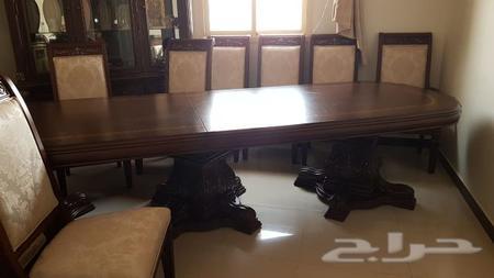 طاولة طعام 12 كرسي جديدة للبيع الرياض الربيع
