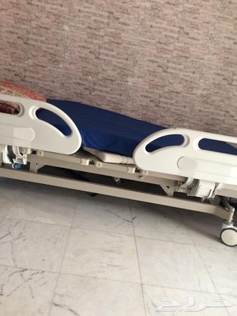 سرير طبي من النهدي وملحقاته للمحتاج المر