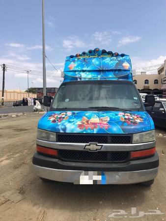 حراج العقار سيارة ايسكريم للايجار في مدينة أبها