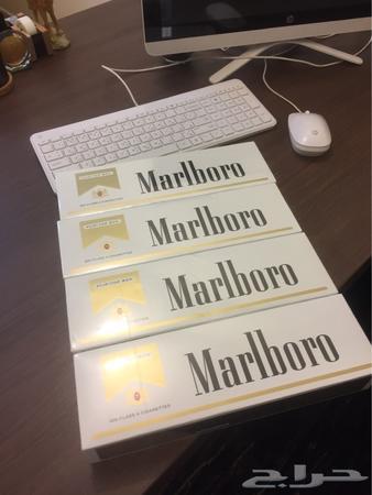 دخان مالبورو ابيض ذهبي امريكي