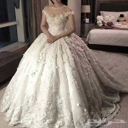 70b57b096d73a فساتين زفاف للبيع بسعر الجمله تبدا 750