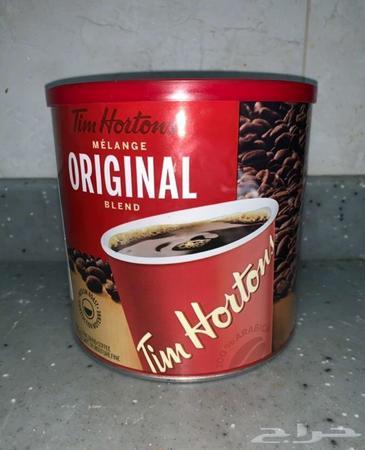 قهوة كوفي تيم هورتنز Tim Hortons