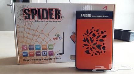 حراج الأجهزة | رسيفر Spider T888 Super مع اشتراك لمدة سنتين