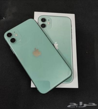 حراج الأجهزة ايفون 11 اللون تيفاني
