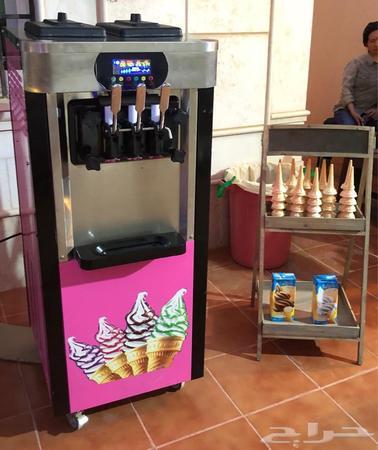 ماكينة ايسكريم للبيع