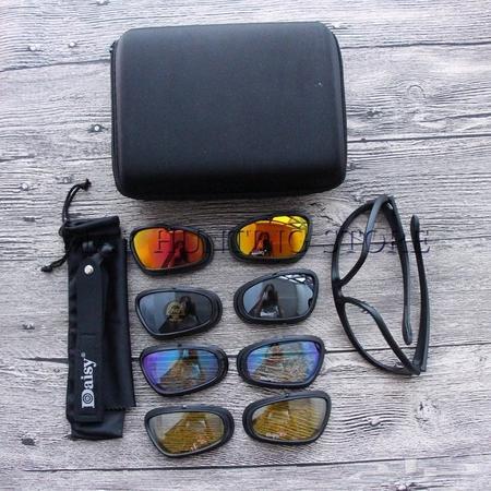 61fb84295 نظارة ديزي الأمريكية بأربع عدسات