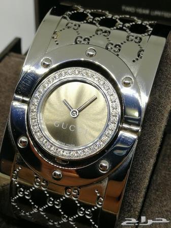 f3e159c924b67 ساعة قوتشي فخمة اصلية سويسرية الماس