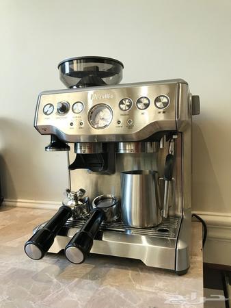 للبيع مكينة قهوة بريفيل Bes870