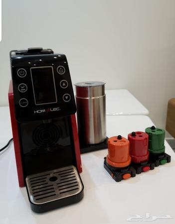 حراج الأجهزة   آلة قهوة هوم إلك