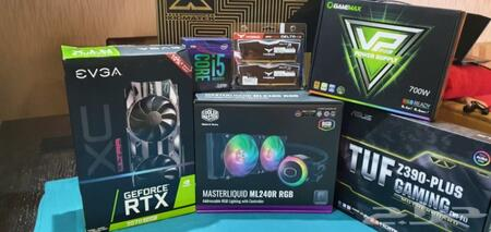 حراج الأجهزة | كمبيوتر العاب قوي GAMING PC rtx 2070 super