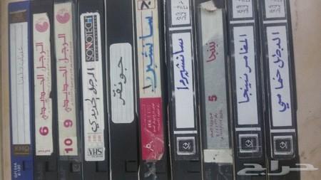أشرطة فيديو أفلام كرتون قديمة