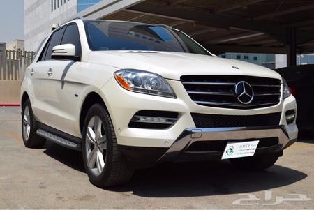 حراج السيارات جيب مرسيدس ام ال 350 موديل 2012