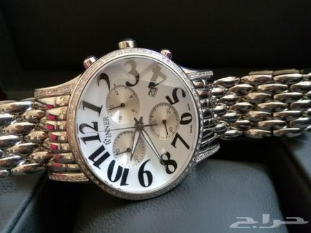 c36874b70 ساعة الماس رجالية فخمة وينر سويسرية