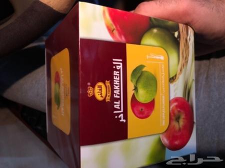 نكهة معسل تفاحتين فاخر اماراتي