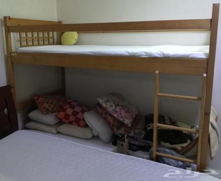سرير اطفال دورين للبيع جده